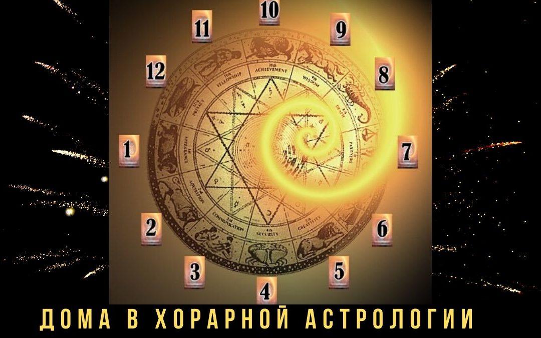 значение домов в хорарной астрологии